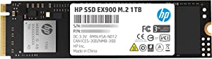 HP EX900 M.2 120GB PCIe 3.0 X4 Nvme 3D TLC NAND Internal Solid State Drive (SSD) 2Yy42Aa#ABC