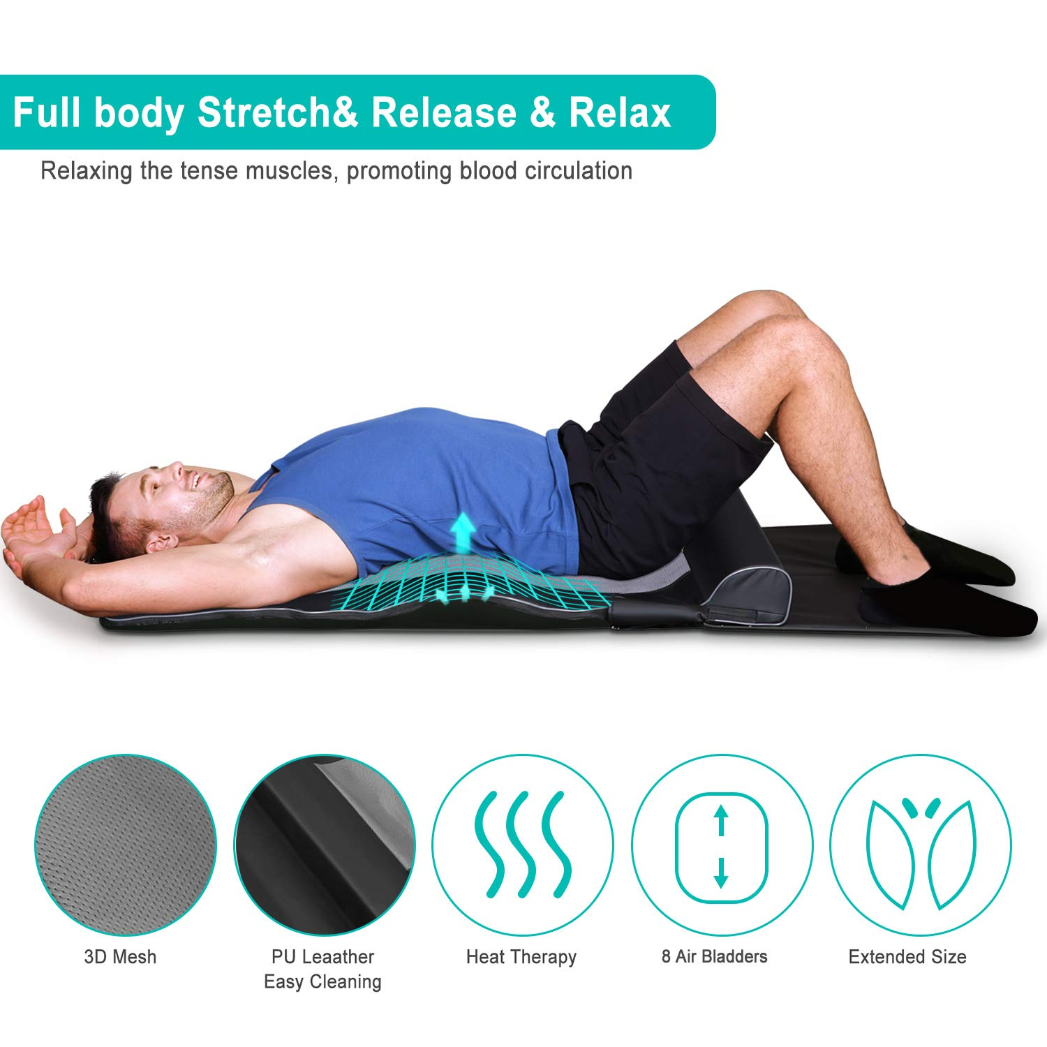 Naipo Yoga Massagematte - Naipo Yoga Stretching Matte