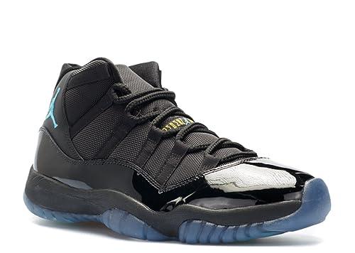 Air Jordan 11 Retro Gamma Blue Black Varsity Maize Zapatillas de Baloncesto para Hombre Mujer: Amazon.es: Zapatos y complementos
