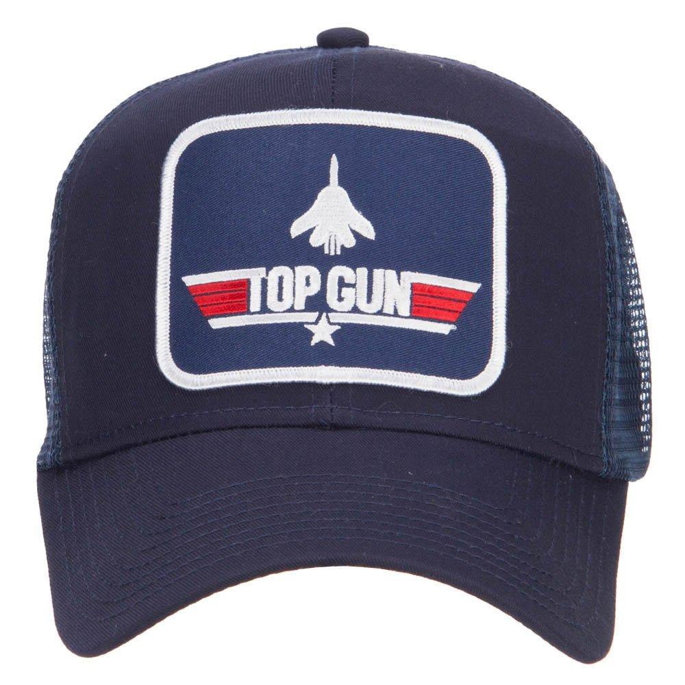 US Navy Top Gun Patched Mesh Cap - Black OSFM at Amazon Mens Clothing store: