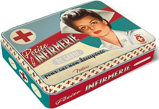 ONOGAL Botiquin de Primeros Auxilios Caja Metal Vintage y Accesorios Paris 410700 7083: Amazon.es: Hogar