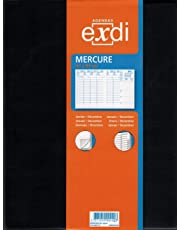 QUO VADIS - 303001Q - Agenda EXDI Semainier MERCURE ML Alpha - Janvier à Décembre 2020 - Couverture Noire - Format : 21 x 27 cm