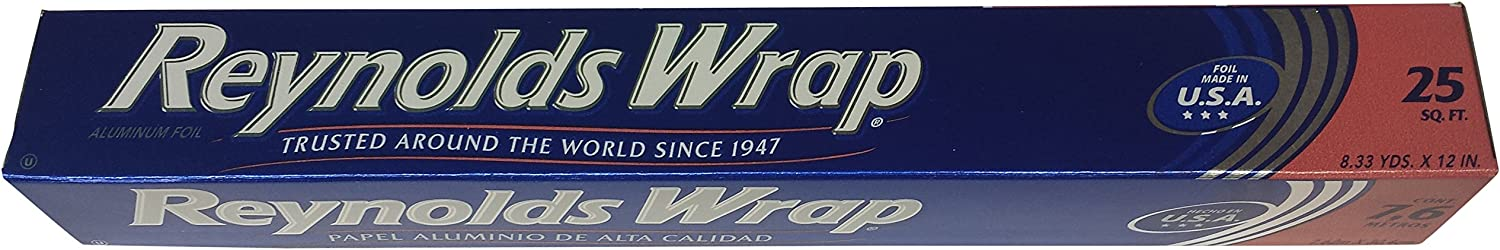 Reynolds Wrap Aluminum Foil, 25 sq.ft.