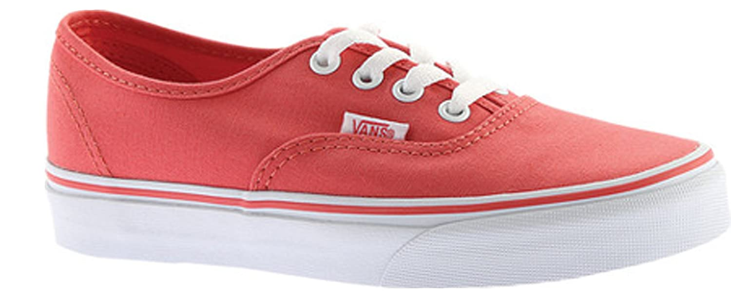 Unisex Authentic (Canvas) Cherry Tomato/True White Men's 4.5 Women's 6 Medium