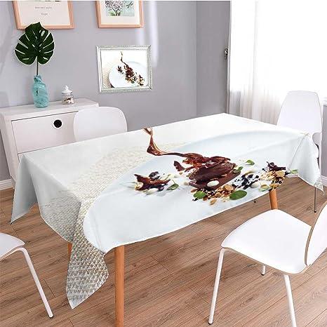 Amazon.com: SOCOMIMI Mantel de lino de algodón macizo ...