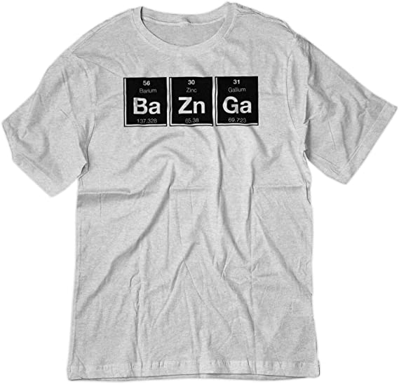 NEW BAZINGA THE BIG BANG THEORY SHELDON T-Shirts Small to 5XL BLACK or WHITE