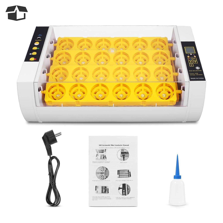 Brutzubehr Inkubatoren Wachtel Brutmaschine mit LED-Beleuchtung ...