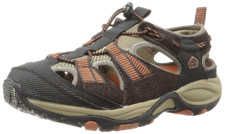 Pacific Trail Men's Chaski Sandal B00H9C95PI 7.5 D(M) US|Chocolate/Burnt Orange