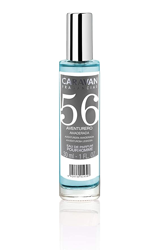 Caravan Fragancias Nº 56 Estuche de Regalo para Hombre Eau de Parfum Fragancia Fresca Amaderada (1 x 150 ml. + 1 x 30 ml.): Amazon.es: Belleza