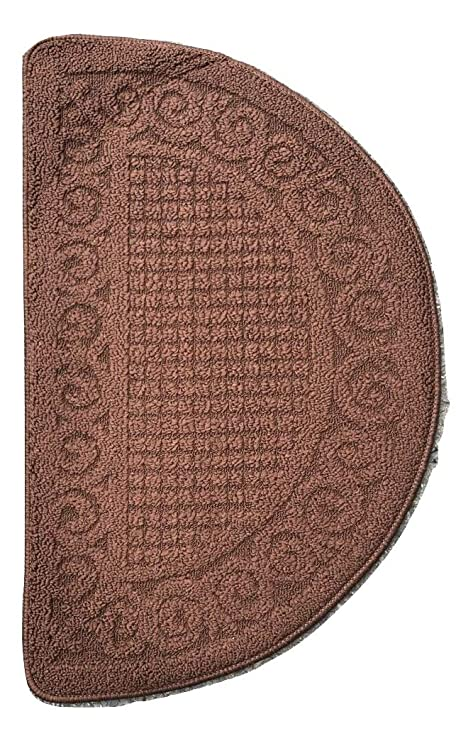 D Shape Half Moon Door Mat Entrance Rug 78 X 48 cm Floor Room decor