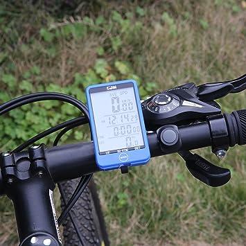 OVIMI 29 Funciones inalámbrico Ciclismo Bicicleta Ordenador ...