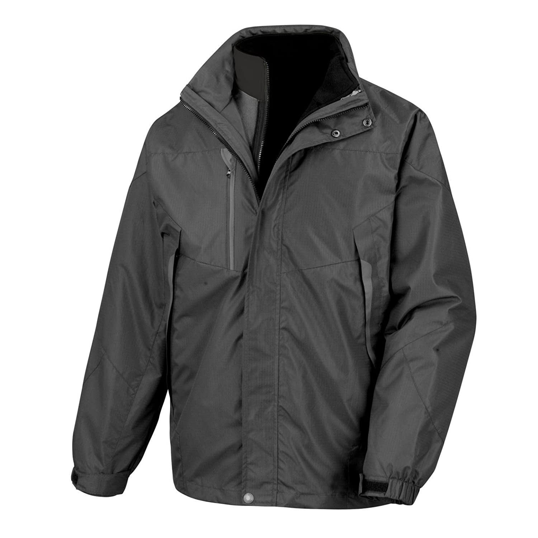Result 3-in-1 Aspen Jacket R199X Black/Black XL