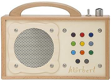 MP3-Player für Kinder: hörbert - Aus Holz und: Amazon.de: Elektronik