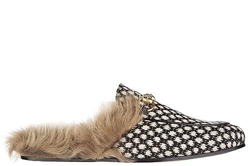 Gucci Mocasines Hombre princetown Glasgow Negro EU 43 428619 K3050 1270: Amazon.es: Zapatos y complementos