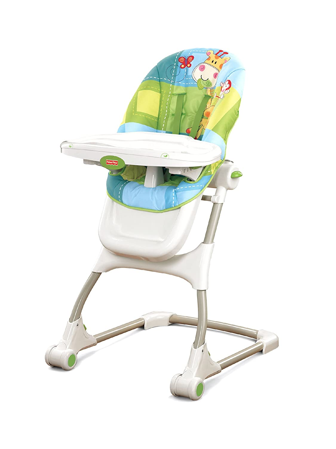 Chair fisher price high chair ez clean - Amazon Com Fisher Price Discover N Grow Ez Clean High Chair Discontinued By Manufacturer Baby