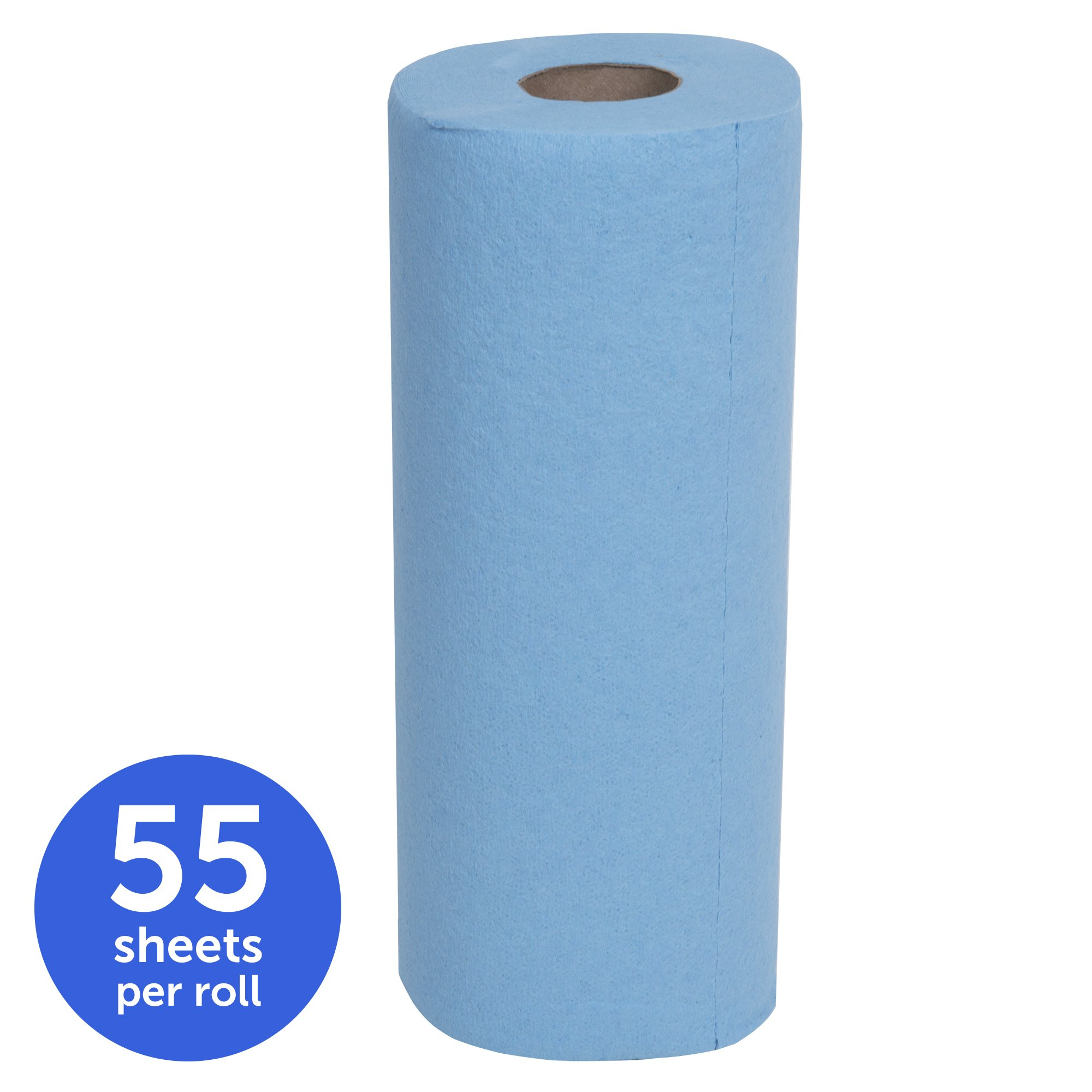 Scott Shop Towels Original (75143), Blue, 55 Sheets / Standard Roll, 30 Rolls / Case (10 Bundles of 3 Rolls), 1,650 Towels / Case by Scott (Image #3)