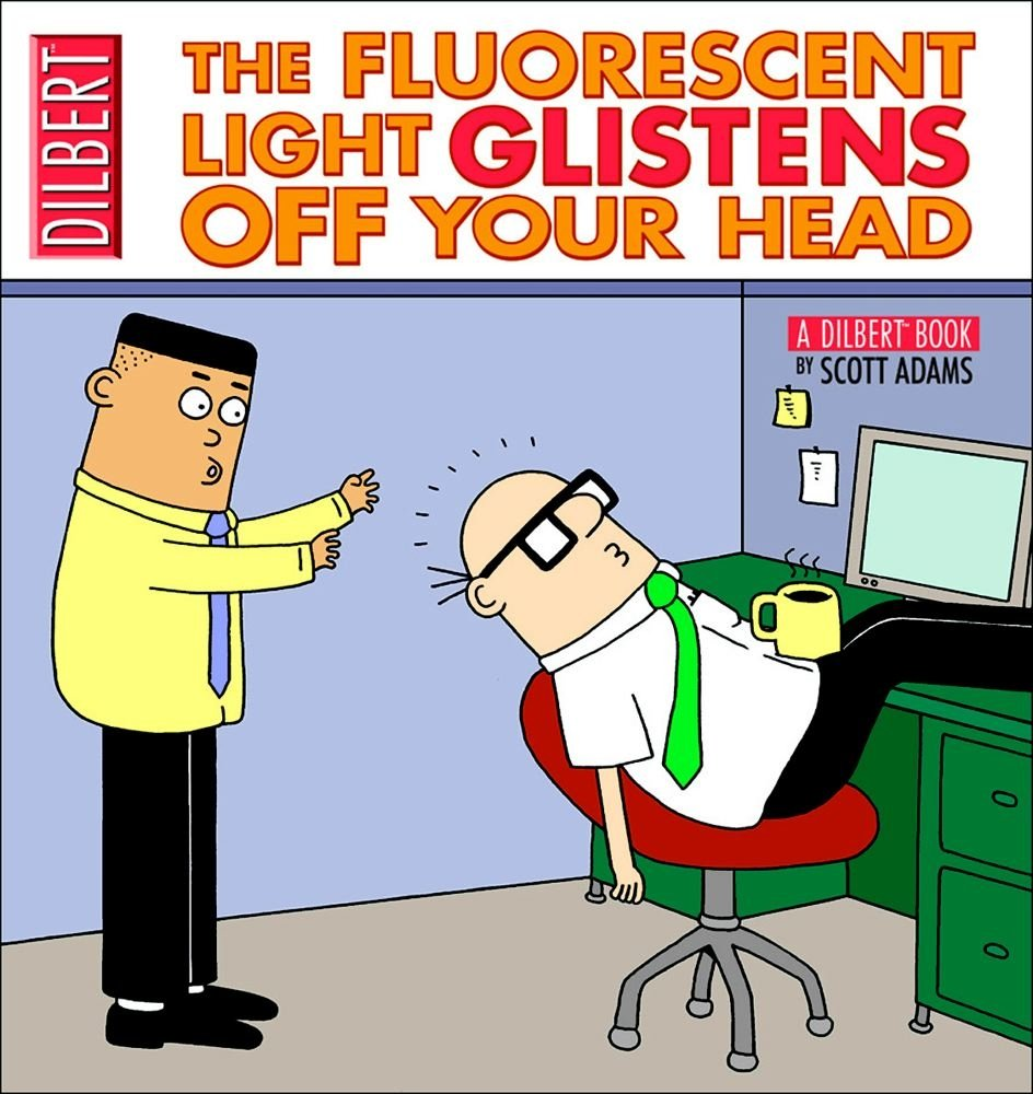 Read Online The Fluorescent Light Glistens Off Your Head PDF