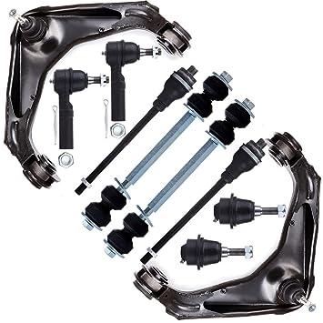 2 Upper 2 Lower ball joint Silverado Yukon Hummer front suspension kit Car & Truck Parts