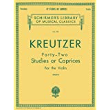 Kreutzer - 42 Studies or Caprices: Schirmer Library of Classics Volume 230 Violin Method (Schirmer's Library of Musical Class