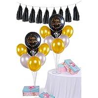 Balon Standı Happy Birthday Püskül Set 2 li