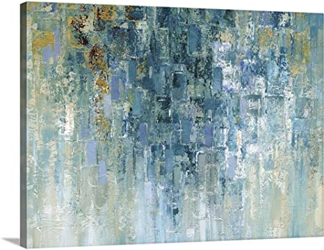 Amazon Com I Love The Rain Canvas Wall Art Print 40 X30 X1 25 Posters Prints