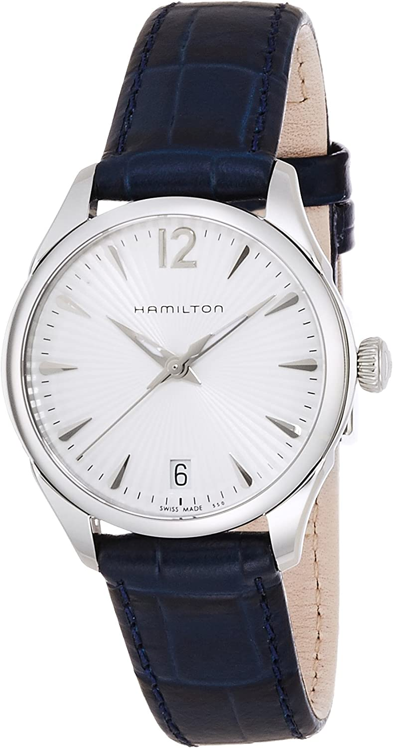 Hamilton Women s Analogue Quartz Watch with Leather Strap H42211655