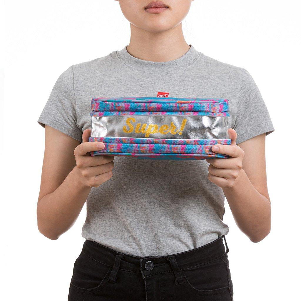 Amazon.com: Zipit – Pixel estuche/bolsa de maquillaje, Súper ...