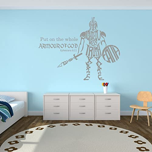 Whole Armor Of God   Ephesians 6:11   Bible Verse Wall Decals, Scripture