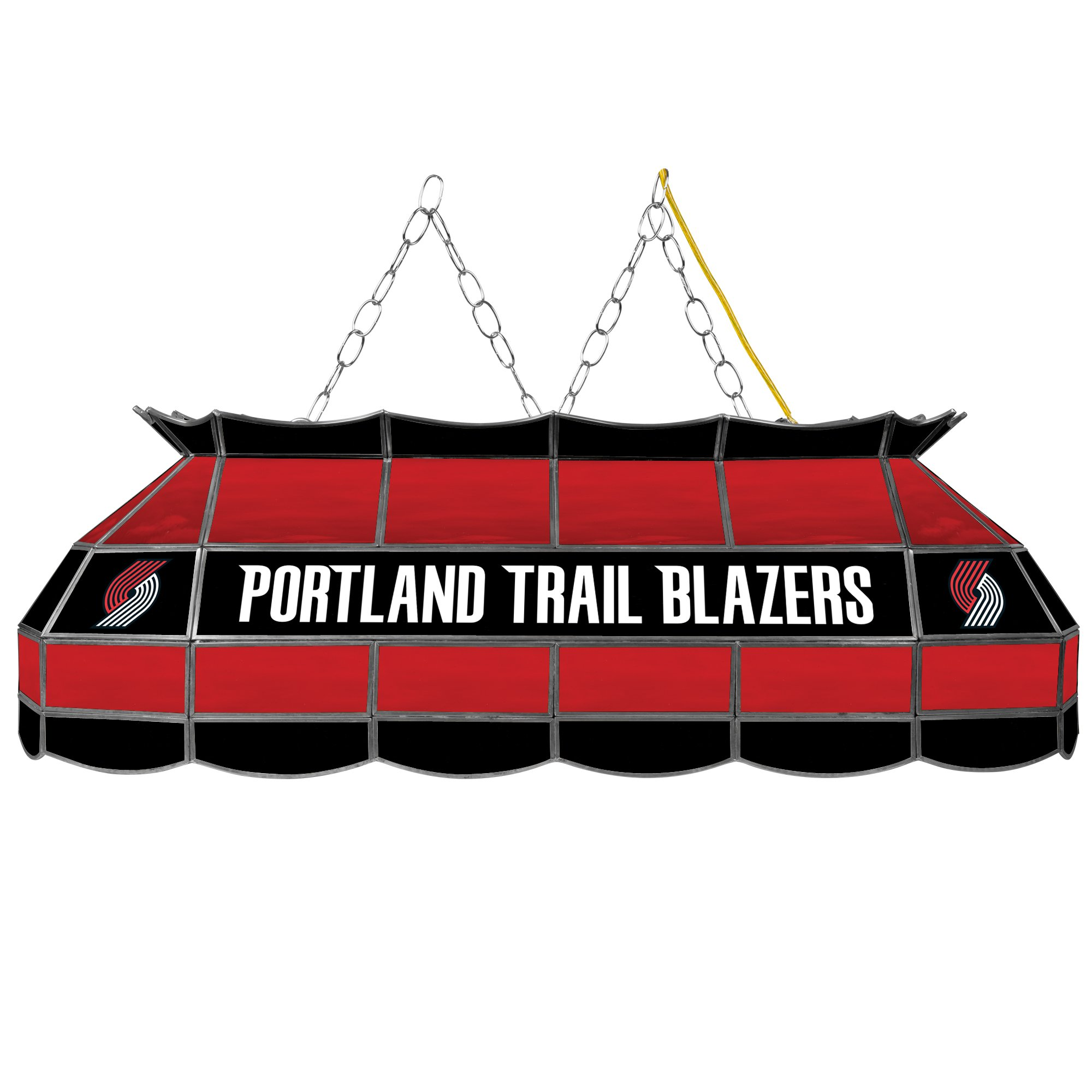 NBA Portland Trailblazers Tiffany Gameroom Lamp, 40'' by Trademark Gameroom