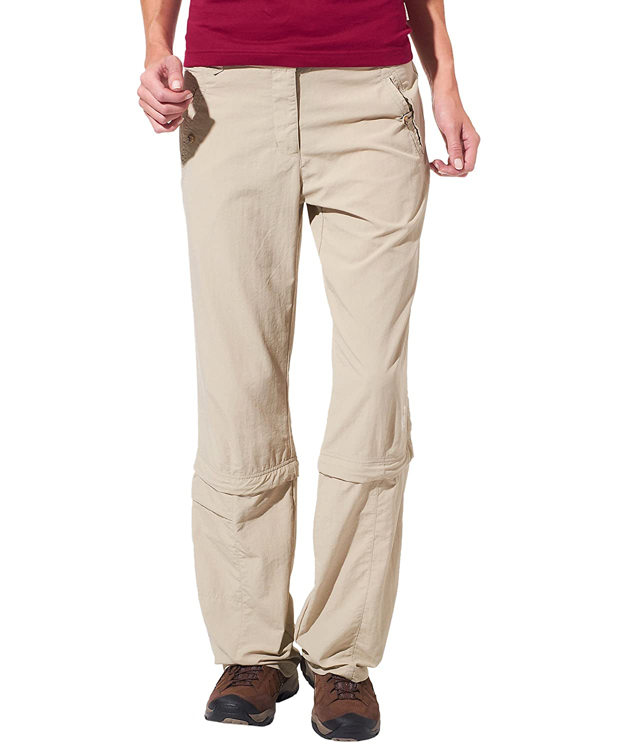 Jack Wolfskin LADAKH ZIP OFF PANTS WOMEN