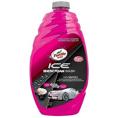 Turtle Wax 50990 ICE Snow Foam Car Wash-48 oz, 48. Fluid_Ounces: Automotive