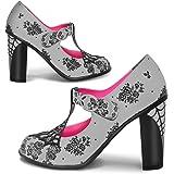 Hot Chocolate Design Chocolaticas High Heels Spider Web Women's Mary Jane Pump
