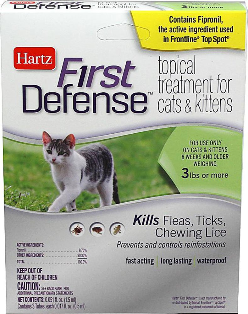 First Defense Topical Treatment for Cats and Kittens