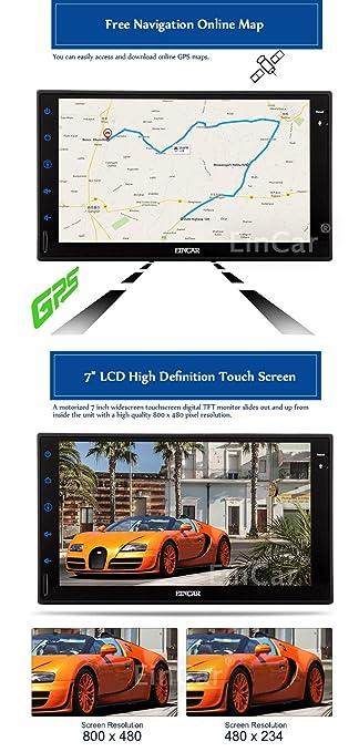 Amazon.com: EinCar Android 5.1 Lollipop Quad Core Car Radio ...