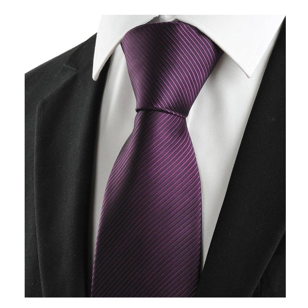 Corbata Fat rabbit para hombre morado Deep Purple Talla /única