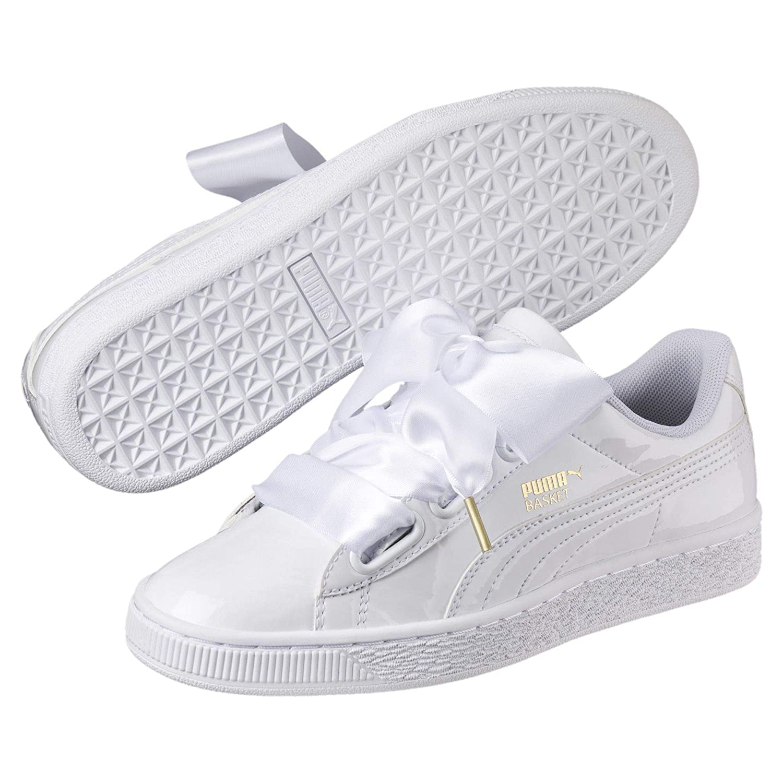 Puma Damen Basket Heart Patent Wn's Sneaker