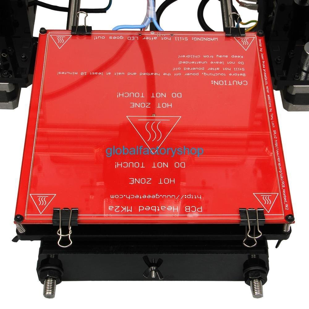 Geeetech Unassembled Prusa I3 pro C dual extruder 3D printer DIY ...