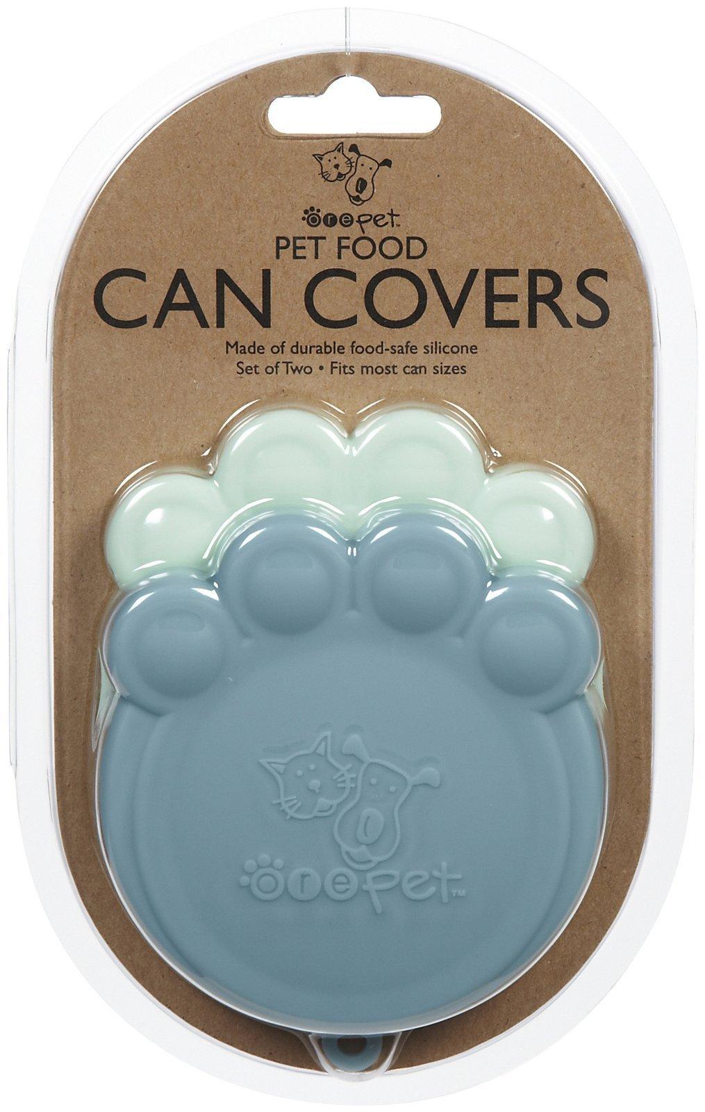 ORE Pet Pet Can Cover - Lt Blue & Blue - 2 count