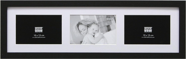 """Large Multi Aperture Cadre Photo Pour 6 12/"""" X 8/"""" Pouces photos Noir Mount"""