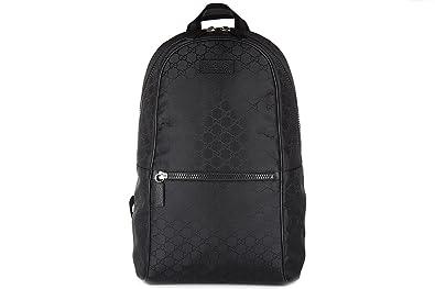 Gucci sac à dos homme gg toile noir  Amazon.fr  Chaussures et Sacs 082ef57f70a