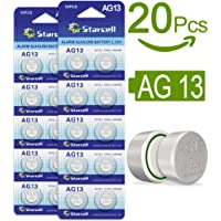 ACT 20 x AG13 LR44 Button Cells Batteries A76 L1154 SR44 G13 357 1.5V