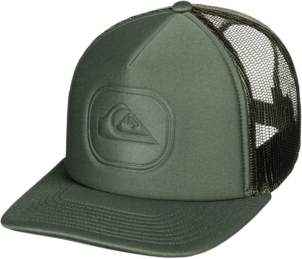Quiksilver - Gorra Trucker - Hombre - One Size - Marrón: Amazon.es ...