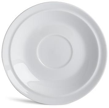 Denby White Tea Saucer  sc 1 st  Amazon.com & Amazon.com: Denby White Tea Saucer: Teacup Saucers: Kitchen u0026 Dining