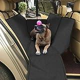 Topist Cane Coprisedile, Impermeabile Resistente Oxford Panno Auto Coprisedile Cane Auto Amaca da Viaggio, con Protezione Laterale e Auto Pet Cintura di Sicurezza, Proteggere la Vostra auto, Camion o SUV da Sporco, Peli o Graffi 160 x 139,7 cm