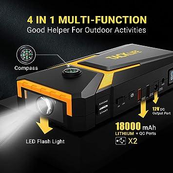 Bater/ía de 18000mAh//800A 123 T8 Booster