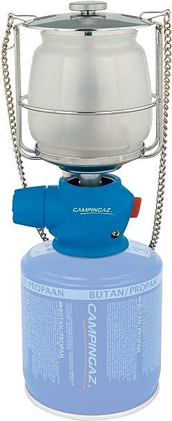 Campingaz Lumostar Plus PZ Lámpara con Gas, para Cartucho CV 470/Cv 300, Unisex, Azul: Amazon.es: Deportes y aire libre