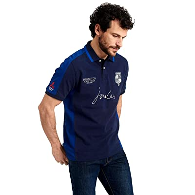 Joules Men's Badminton Classic Fit Polo Shirt, French Navy, XX-Large | .com