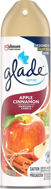 Glade Air Freshener, Aerosol, Apple Cinnamon, 8 Oz