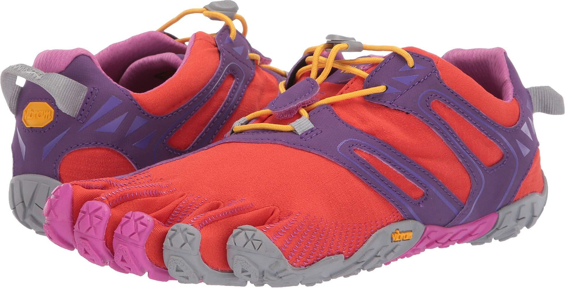 Vibram FiveFingers Women's V-Trail Barefoot Shoes Magenta/Orange 35
