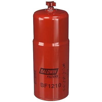 Baldwin Filters BF1210 Heavy Duty Fuel Filter (11-11/32x4-1/4x11-11/32 In): Automotive